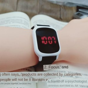 Kynpd 2019led touch student personalized metal case strap digital 2019led electronic touch student personalized Silicone Electronic watch me
