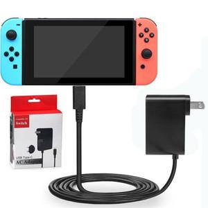 Interruptor de la pared del recorrido del cargador del adaptador de CA para Nintendo NS Juego adaptador de 5V 2.4A de EE.UU. enchufe de la UE precio wholeale