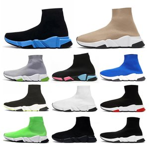 Originals speed trainer sock designer shoes luxury Platform Runners Casual sneakers vintage Tripler étoile Flat Socks Knit Boots Sports Shoe