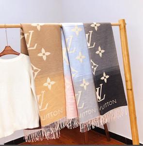 женщины роскошного кашемира шарфа бренд дизайнер высокого класс больших платки бренд удобного шарф LOUΙS VUΙTTON w18-11