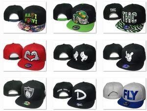 2020 populärer Sport Tesant Hysteresen-Kappen CAL Letter D Kappe FLY Einstellbare Snapback Baseball Hip Hop OSU-Kappe Drop Accepted