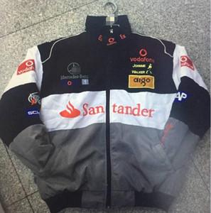 Взрыв F1 формула один гоночный костюм, мотоцикл езда куртка, ветрозащитный и теплый, анти-падение