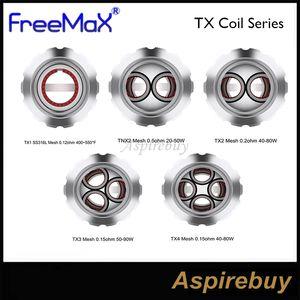أصيلة FreeMax TX شبكة لفائف TX1 0.15ohm TX2 0.2ohm TX3 TX4 0.15 أوم لفائف استبدال ل FreeMax Fireluke 2 Tank