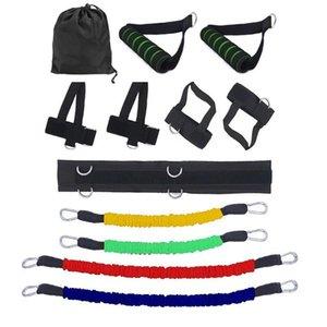 Resistance Band vier Farben Optional Gym-Bein-Taillen Krafttraining Praktische Trainings-Übungs-Bands 270x220x110mm T191212