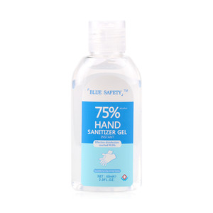 60ml Portable Disposable alcohol-free No Clean hand sanitizer with 75% alcohol content 60ml kills 99% of germs