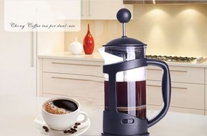 Drucktopfmethode French Press Kaffeekanne Glasteemacher Handgefertigte Kaffeefilter Pressentöpfe 335ml