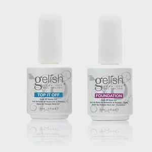 Top qualité Harmonie Gelish Soak Off Nail Gel Nail Art Gel Polish Laque Led / uv Base Coat Fondation Top Coat sur la vente