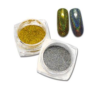 SWEET TREND 1 g / Flasche Shinning Mermaid Nagel-Funkeln-Puder-Nagel-Kunst-Dekorationen UV Gel Tipps Staub Schönheit Werkzeuge LAM09-10