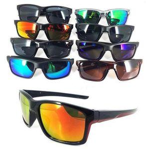 Дизайнер ослепительно очки лето велоспорт спорт мода солнцезащитные очки Женщины мужчины светоотражающие покрытие пляж Велоспорт солнцезащитные очки 8 цветов