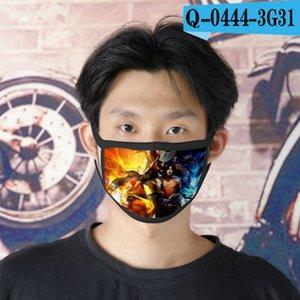 ino naruto cubrebocas designer tapabocas reusable face mask for male cartoon face mask 10 bdehome GCqLB