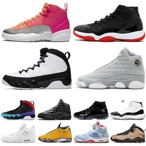 New 4S homem tênis de basquete 5s Bred 10s Fab 5 SP Michigan 9s TRIBUNAL PURPLE mens 11 12s FIBA ​​tênis 13s Trainers