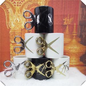 مقص نموذج القدح جديد رائع أكواب القهوة الشاي كأس الجدة هدايا طلاء الذهب الفضة تصفيح عيد الميلاد القدح الحاضر 6ZDZ258 T200327