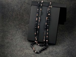 Luxury Women's Short Pearl Chain Satellite Necklace Rhinestone Ball Clavicle Chain Necklace Multicolor High Quality Jewelry 68357