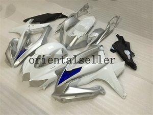 GOOD For SUZUKI GSXR 600 750 GSX R750 R600 GSXR600 08 09 10 GSX-R750 GSXR-600 K8 GSXR750 2008 2009 2010 blue white Fairing kit Aa26