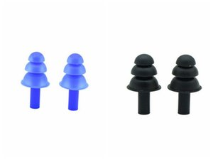 Silicona Blanco 11 eEarplugs impermeable a prueba de polvo tapones para los oídos Natación accesorios adulto Profesional suaves tapones para los oídos a prueba de ruido