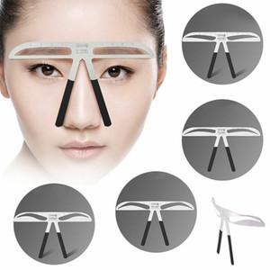 Outil récent Sourcils Sourcils Stencil Mesure Règle 3D Équilibre Modèle Stencil Shaper Outil de maquillage Accueil Creative Sourcils Couteau