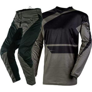 2020 ONE MX Corsa Warhawk Grey Motocross Off-Road Dirt Bike Gear - Jersey Pantaloni insieme combinato