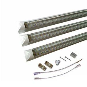 Super Bright 24 inch t8 bulbs 36W 45W Cooler Door 5FT V-Shpaed T8 Led Tubes Light Integrated 240 Beam Angle led 4ft tube lights price