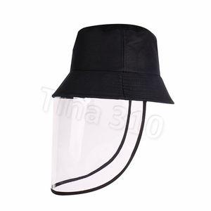 Negro pescador sombrero eólico arena polvo sombrero artículos para el hogar fiesta sombreros fiesta suministros T2C5189