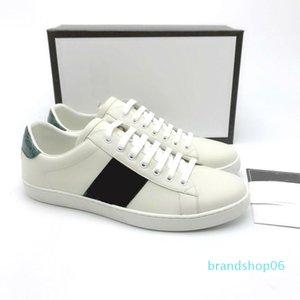 Ace Shoes Designer Shoes morango couro abelha Casual Sneakers bordados, tigres fruta do dragão homens e mulheres Sneakers C20