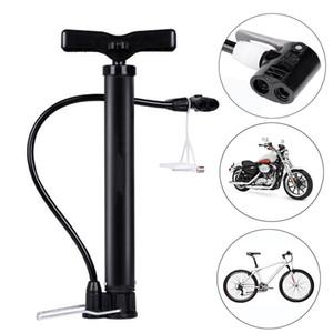 Portable mini bicycle Pump 120 160PSI Floor Standing bike tire Pump Basketball Pump Motorcycle Tyre Hand Inflator Bicycle Tool