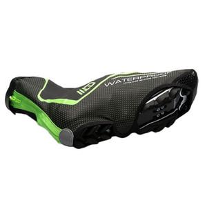 Proteção de capa de sapato esportes Quente equitação à prova de poeira à prova de vento à prova de vento impermeável PU couro de couro ao ar livre ciclismo acessórios de bicicleta
