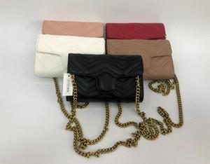 hohe qulity klassische Designer-Frauen Handtaschen-Kette Damen mit Portemonnaie Composite Trage PU-Leder Kupplung Schulterbeutel weibliche Geldbeutel