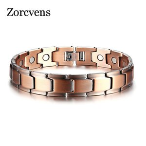 Casual Modyle Homens Bracelet terapia magnética Bangle Copper Power Energy Masculino Jóias