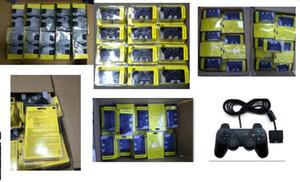 PARA PS2 Wired Controller Gamepad com pacote de varejo