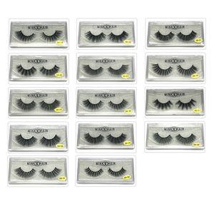 5D Imported Chemical Fiber False Eyelashes Natural Simulation Comfortable Three-dimensional Multi-layer False Eyelashes Pure Handmade DHL