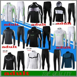 top 2019 2020 giacca tuta maschile 19 20 top tuta sportiva di calcio di addestramento Jogging Wear kit Survêtement adulti