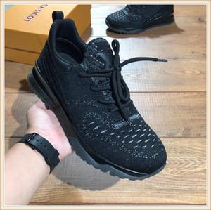 louis vuitton Lv Yeni 2019 Erkekler Ayakkabı Moda Sneaker Lüks Ayak bileği ile Orijinal Kutusu Zapatos hombre Erkekler Ayakkabı Moda Bırak Gemi