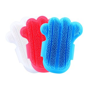 Palm Dog Pet Bain Douche Gant de massage Brosse réglable Multicolor Animaux de nettoyage pour chats Mode 3 5mC UU