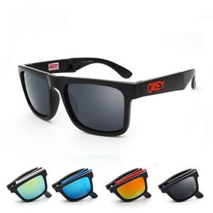 Folding Designer Brand Occhiali da sole spia BLOCCO uomo di vetro di Sun Reflective Coating gafas Piazza spiato per le donne Rettangolo Eyewear