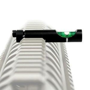 أداة مستوى الاكسسوارات التكتيكية فقاعة مستوى جبل سبيكة الروح الميزان الخرز الثقل الموازن لل20mmRail بندقية الادسنس نطاق الليزر الدائري