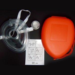 40шт / много искусственного дыхания маски, реанимация СЛР, односторонняя маска клапана, CPR маски, No Contact Mask