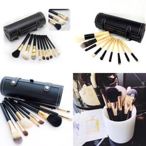 Beliebte M Make-up Pinsel Kit Set Kosmetik Pinsel Tool Kit 9pcs Make-up Pinsel Set mit Tasche