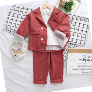 Children 2020 Spring Autumn Clothing Set For Boys And Girls Long Sleeve Suits Jackets +Pants Baby Girl Outfits Tracksuit