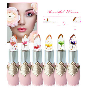 new moisturizing winter lipstick minfei transparent gold foil warm change flowers jelly color lipstick cosmetics discolored DHL