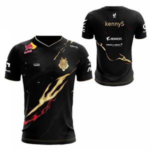 LOL Liga 2019 S9 Saison LEC G2 Esports Team Uniform Jersey Wunder Jankos Caps PerkZ Mikyx T-Shirt CSGO Spiel World Limited Y200409