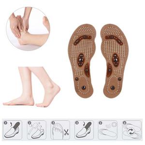 Thérapie magnétique Aimant de soins de santé Massage des pieds Semelles hommes / femmes cales en mousse Soins des pieds massage hommes / femmes