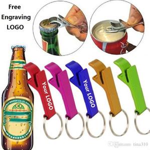 Açacakları Aracı Dişli İçecek açıcı Yeni 200pcs anahtarlık, metal alüminyum alaşım Anahtarlık halkası bira şişesi özel ödeme ekstra kişiselleştirilmiş