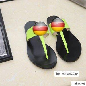 New sandals designer shoes women men casual shoes summer casual leather sandals belt box high-end fashion 5 color size 35-45