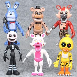 6pcs cinco noches en FNAF de Freddy Juego de Acción calcula la muñeca de juguete para niños Kids
