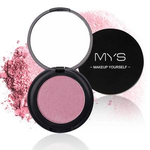 MYS Marque 6 Style cuit blush Palette de Maquillage Visage Joue Pressé minéraliser Poudre Blusher Long Lasting Nude Cosmétiques Naturels