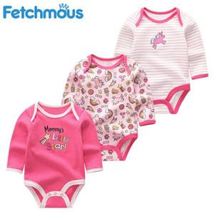 baby girl clothes full sleeve romper newborn boy clothing 3Pcs set cartoon animals infant toddler jumpsuits costumes roupasbAr1#