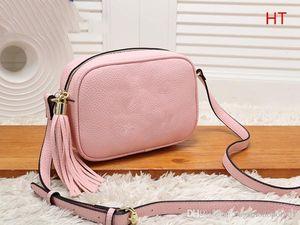 designer handbags Fashion Women Leather Tassel Bag Shoulder Bag Tote designer handbag brand cross body Small square bag