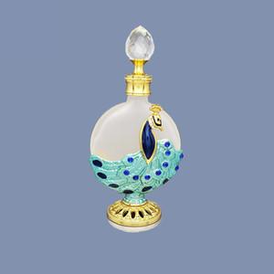 1PC 8-20ML del metallo dell'annata della bottiglia di profumo in stile arabo Oli Essenziali contagocce container Medio Oriente decorazione del regalo di sarchiatura