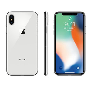 Desbloqueado original restaurado Apple iPhone x con / sin ID de Rostro 64GB / 256GB IOS
