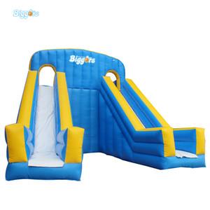 Tobogán acuático inflable para exteriores, tobogán inflable, trapaulin pvc slide